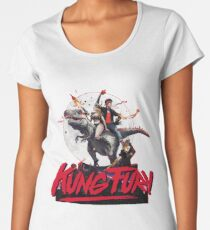 Kung Fury Women's Premium T-Shirt