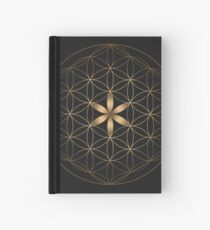 The Flower Of Life Hardcover Journal