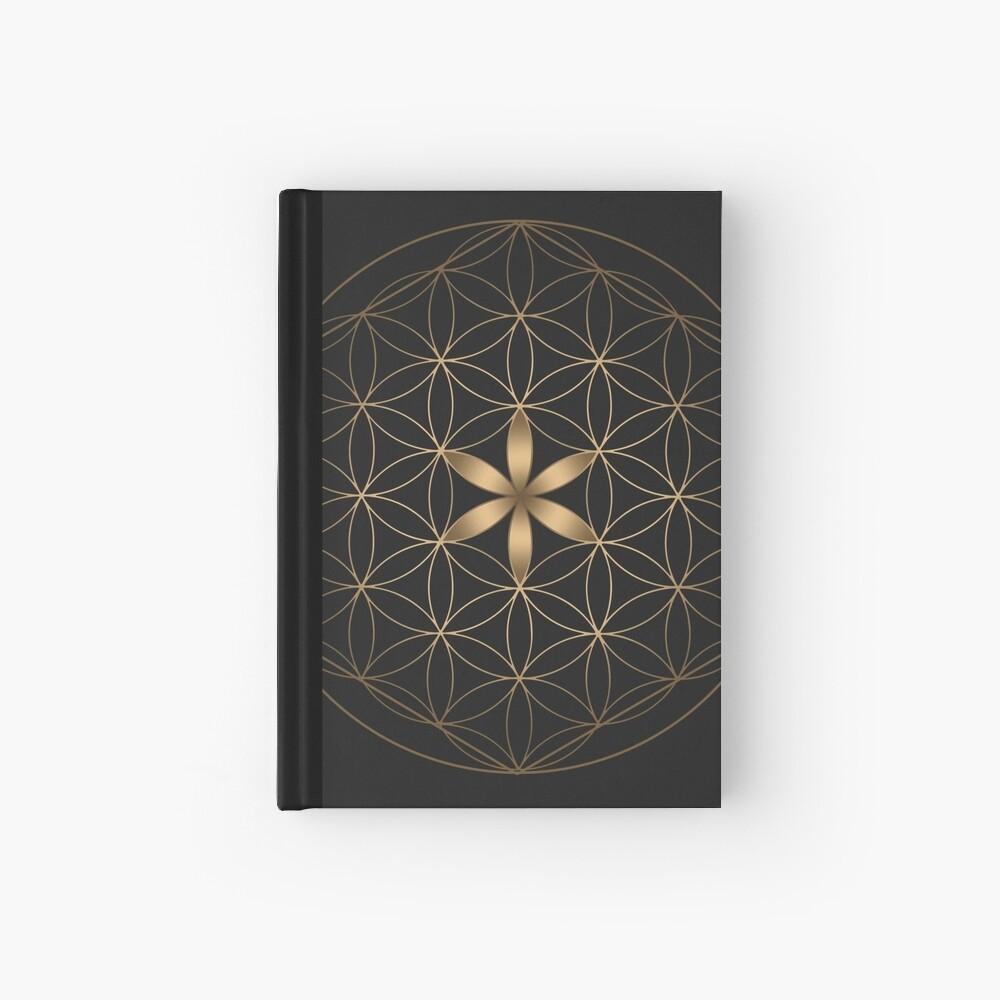 La flor de la vida Cuaderno de tapa dura
