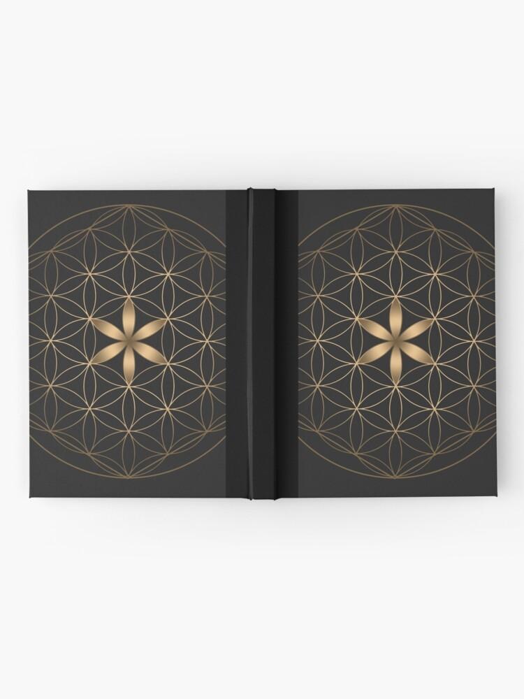 Vista alternativa de Cuaderno de tapa dura La flor de la vida
