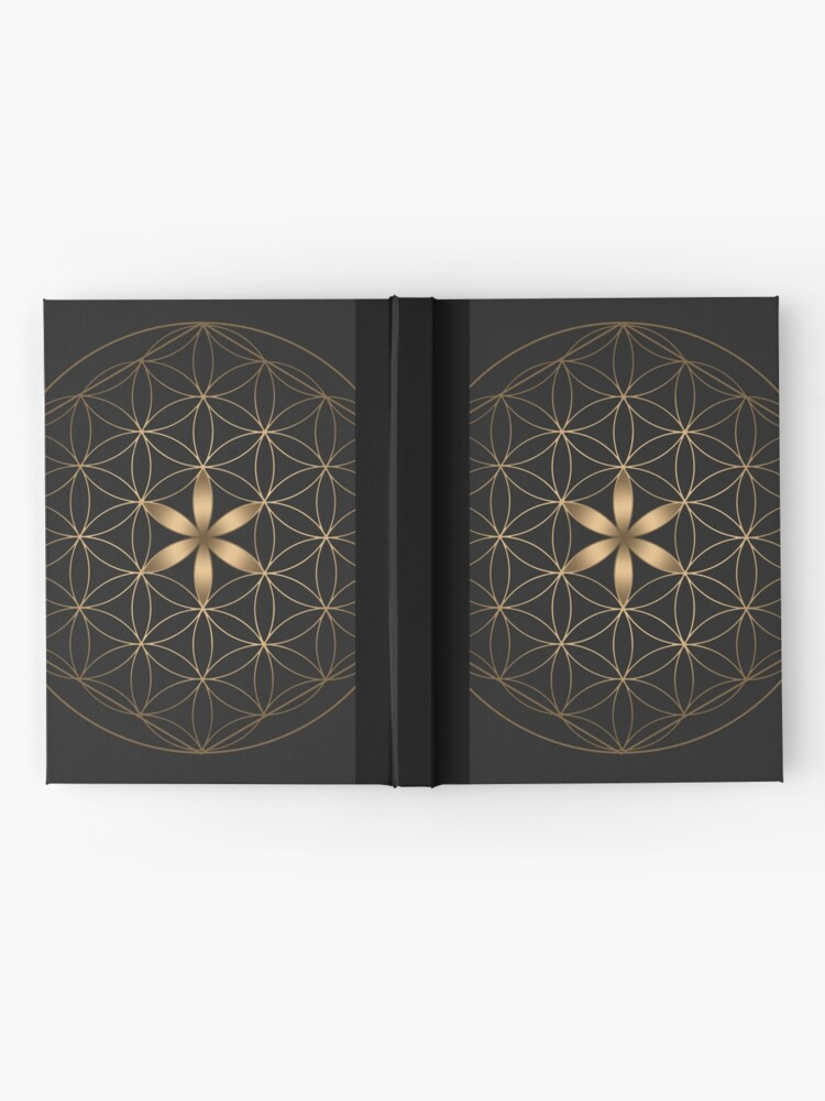 Alternate view of The Flower Of Life Hardcover Journal