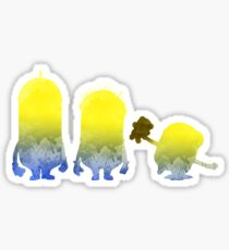 Characters Inspired Silhouette Sticker
