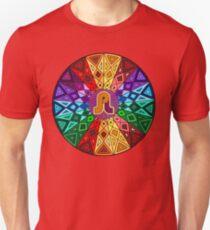 Pretty Lights - Rainbow Geometric Mandala - Psychedelic Funkadelic Trippy Festival Hallucinogen  T-Shirt