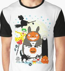 hallowen totoro Graphic T-Shirt