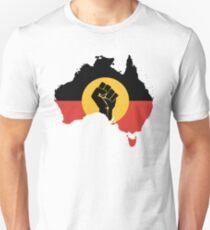Map Aboriginal Australians Unisex T-Shirt