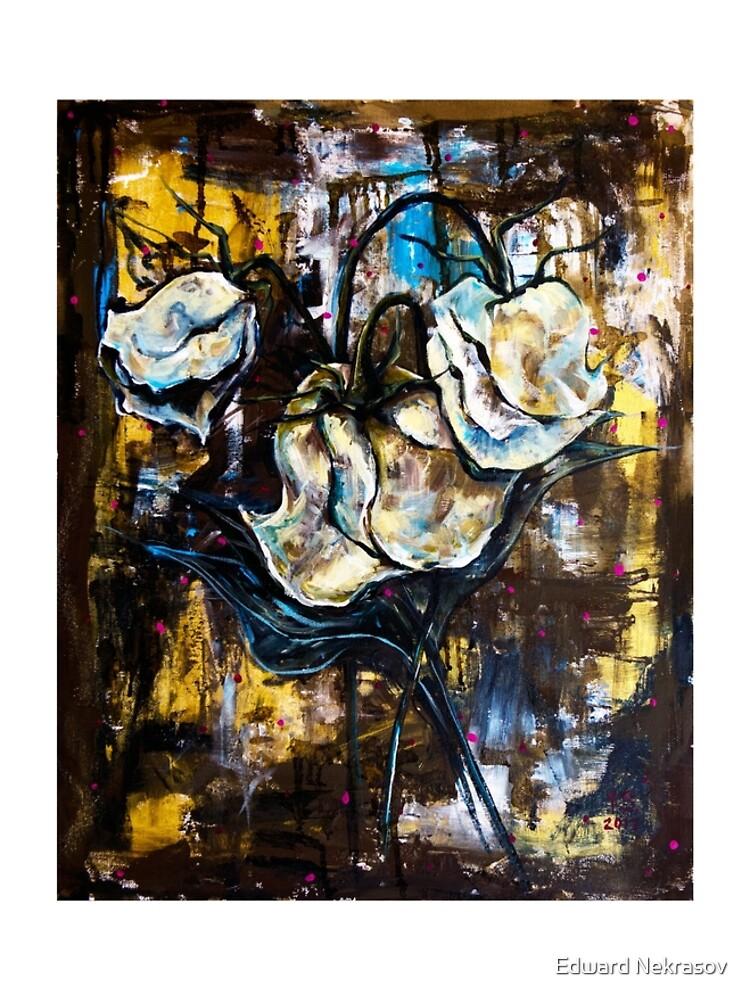 Dried roses by Sadykova