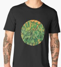 """Ash-tree"", green & yellow, floral art Men's Premium T-Shirt"