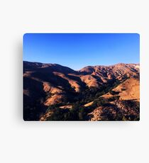 Hills in the country  Canvas Print