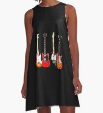 guitar A-Line Dress