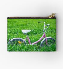 """Little Pink Bicycle.... Studio Pouch"