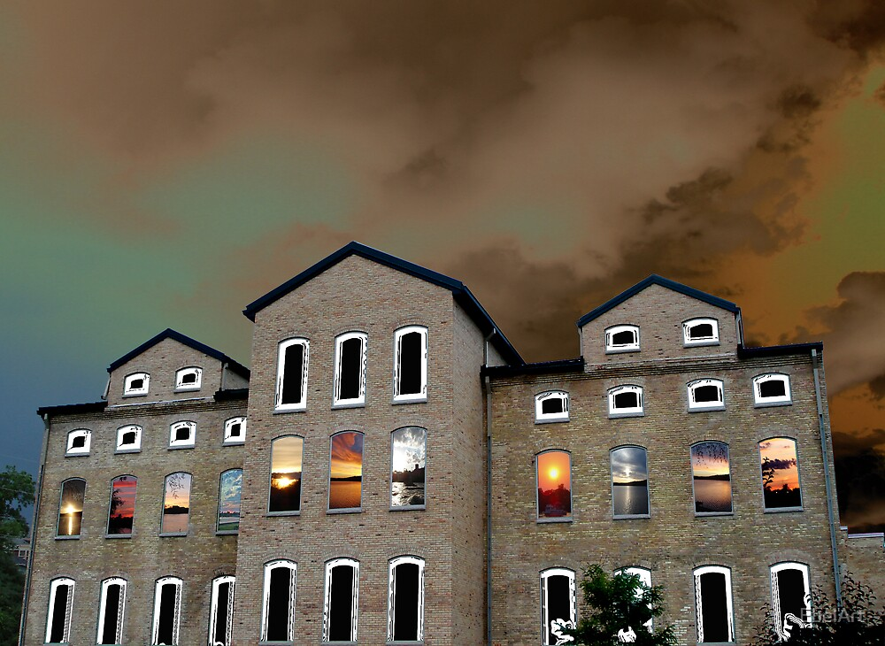 The Sunset Factory by EbelArt
