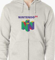 Nintendo 64 Zipped Hoodie