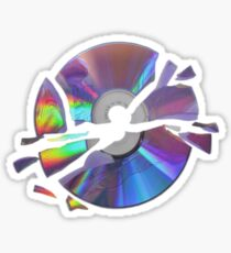 tumblr aesthetic cd Sticker