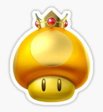 Mario Kart Golden Mushroom Sticker
