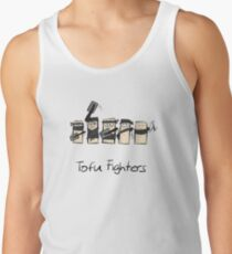 Tofu Fighters Funny Design for Tofu Lovers and Vegans Tanktop Unisex