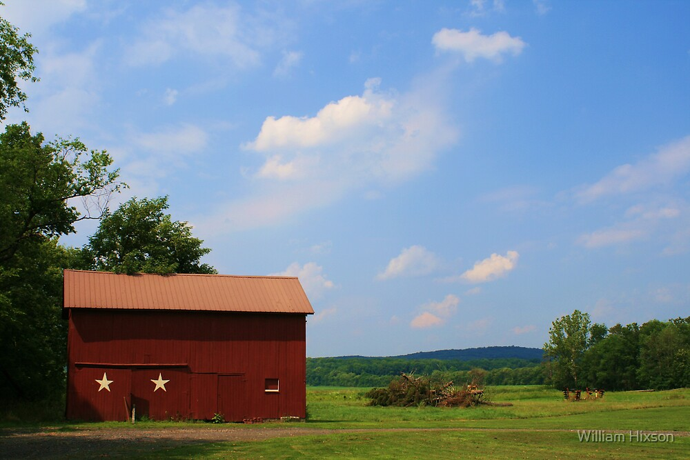 Red Barn by William Hixson