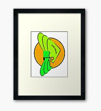 cool thulhu Framed Print