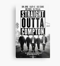 Straight Outta Compton Movie Metal Print
