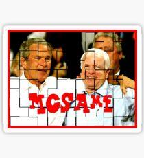 McSame - McCain Sticker