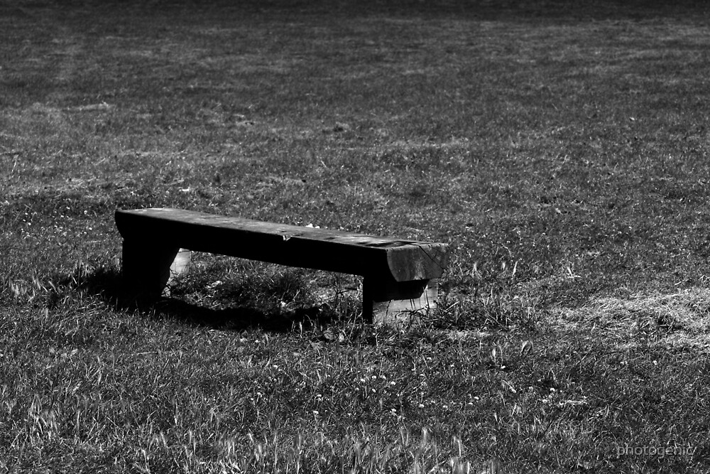 the bench by photogenic