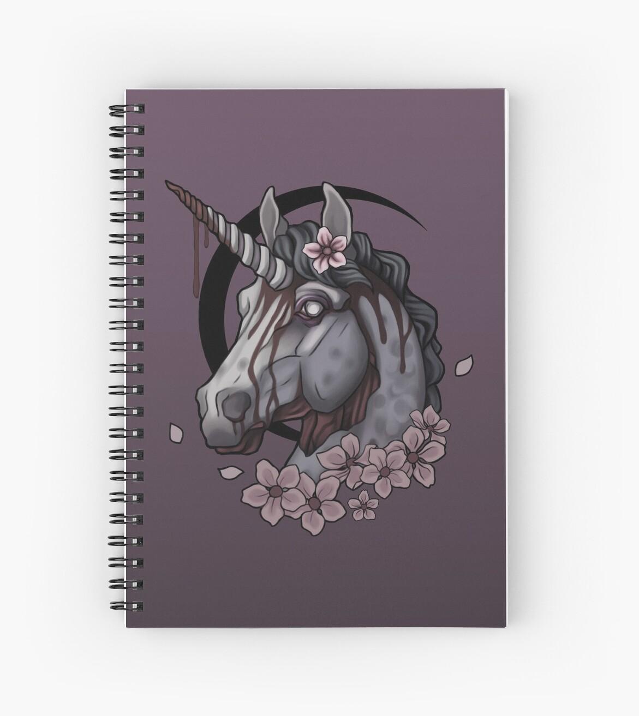 Zombie Unicorn  by Melextis
