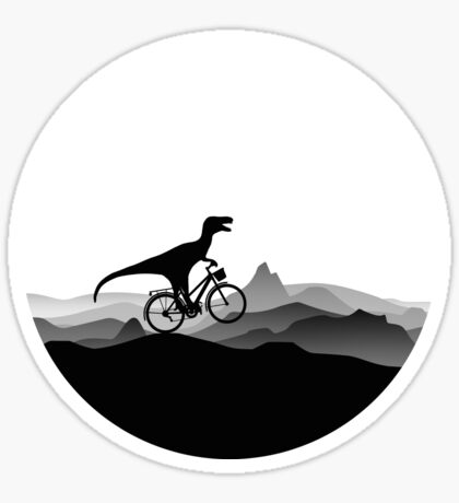 BICYCLE DINO - Dino Collection Sticker