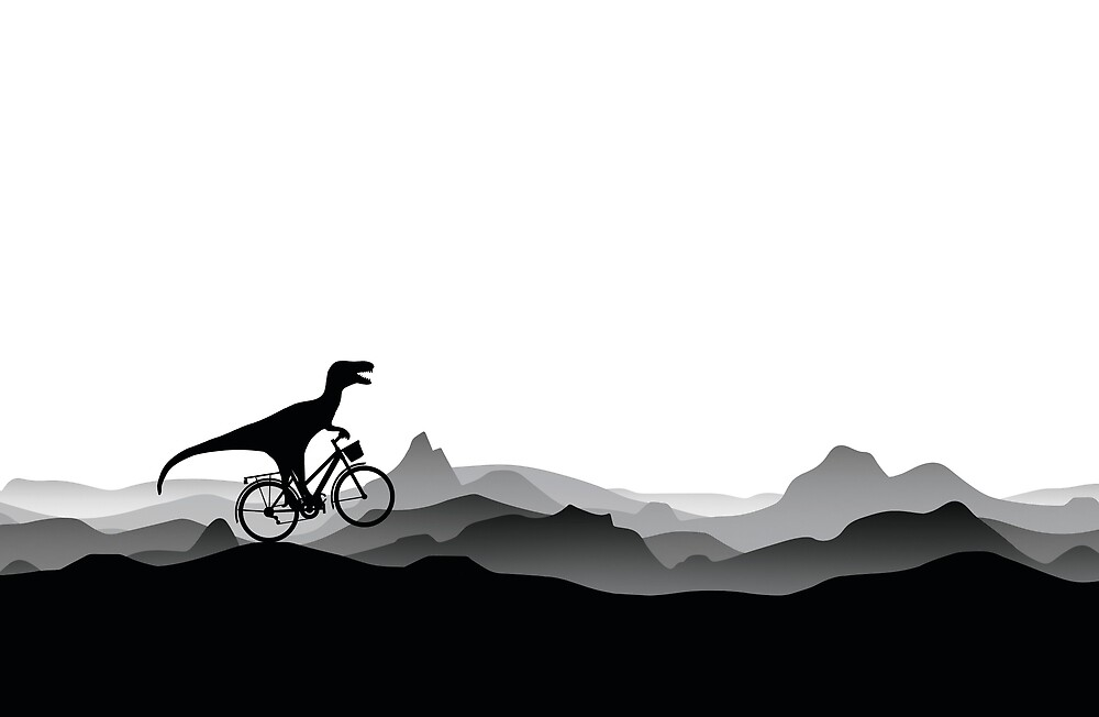 BICYCLE DINO - Dino Collection by 11pixeli