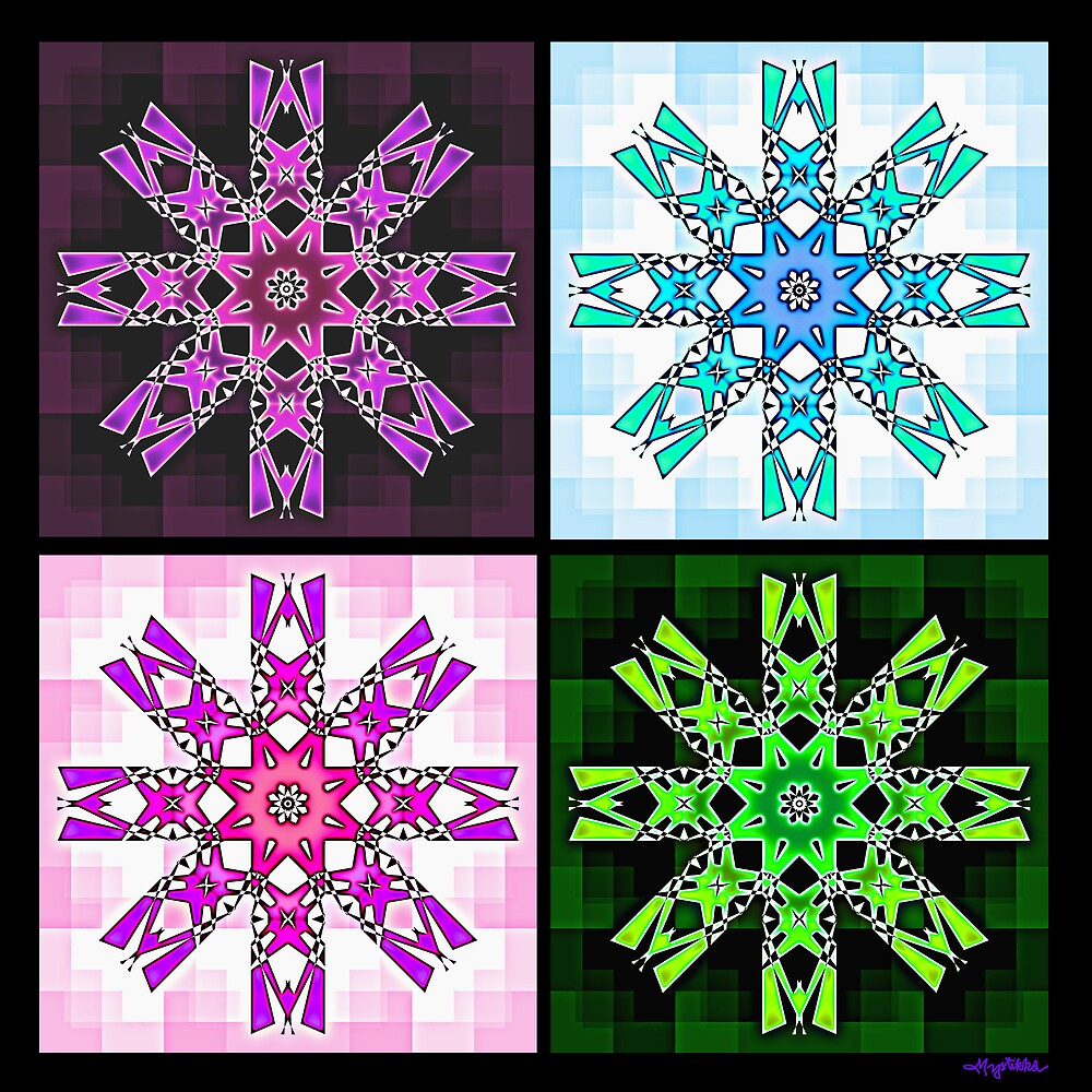 Starflower Variations by Mystikka