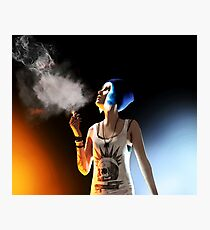 Chloe Price - Smokin' Death - Life is Strange Photographic Print