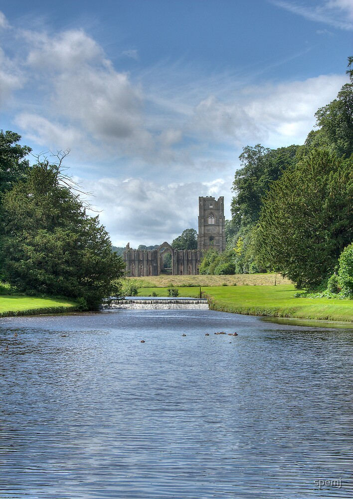 Fountains Abbey by spemj