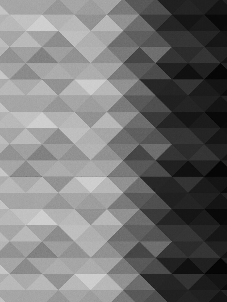Grayscale triangle geometric squares pattern by PLdesign