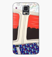 View from London Jubilee Line Case/Skin for Samsung Galaxy