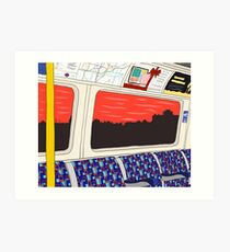 View from London Jubilee Line Art Print