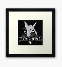 Drinking  Drinkerbell Parody Framed Print