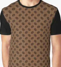 Seamless pattern with coffee beans Graphic T-Shirt