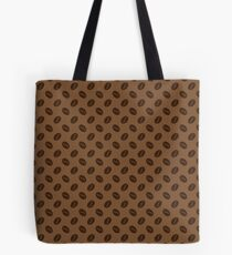 Seamless pattern with coffee beans Tote Bag