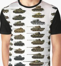 Camiseta gráfica Panzers!