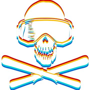 Ski Skulls with 3D color by muli84