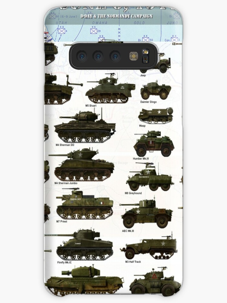 'D-Day Normandy 1944' Case/Skin for Samsung Galaxy by TheCollectioner