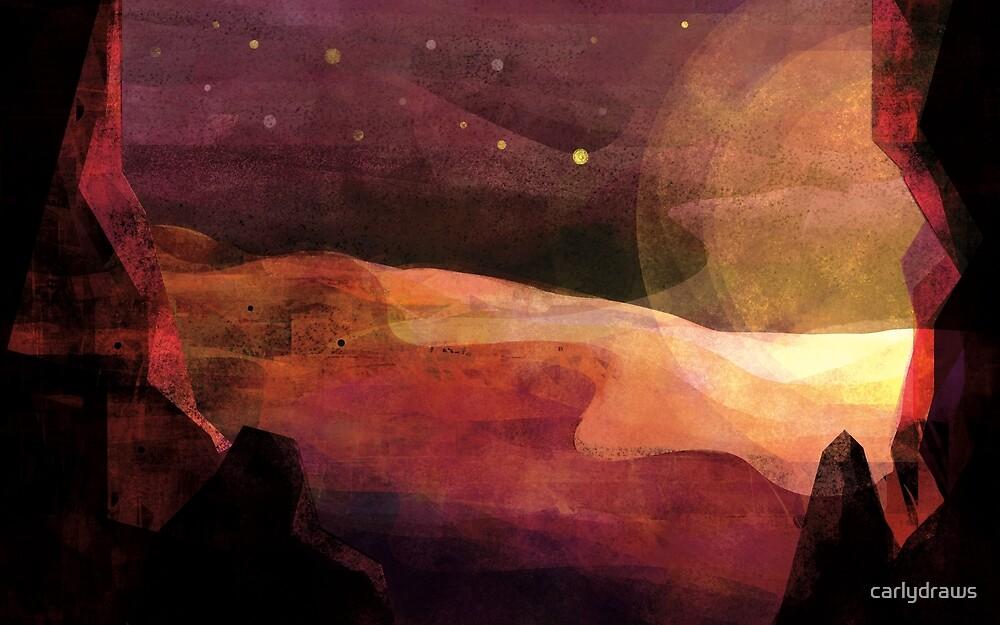 Desert Night by carlydraws