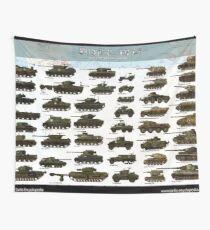 D-Day Normandy 1944 Wall Tapestry