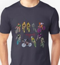 Cycling Legends pattern T-Shirt