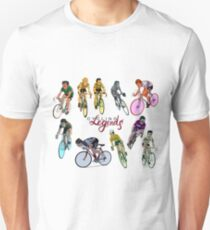Cycling Legends pattern T-Shirt