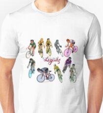 Cycling Legends pattern Unisex T-Shirt