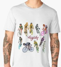 Cycling Legends pattern Men's Premium T-Shirt