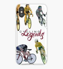 Cycling Legends pattern iPhone Case/Skin