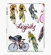 Cycling Legends pattern iPad Case/Skin