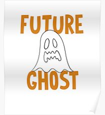 Halloween Future Ghost Poster