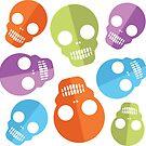 Merry Halloween skull by Alexzel