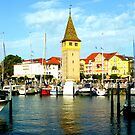 Lindau Harbour View by ©The Creative  Minds